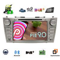 "8"" Android 9.0 Car CD DVD Stereo Radio GPS NAV Head Unit For Toyota Camry Aurion"