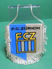 Fanion Foot : FC Zürich FCZ Switzerland team équipe club football soccer Pennant