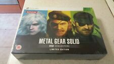 METAL GEAR SOLID HD COLLECTION LIMITED EDITION (UK) NUOVO SIGILLATO(NEW)XBOX 360