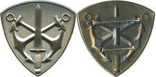 Commandos Marine, insigne de béret, non titulaire, 50 mm, embouti, ( réf 6086)