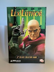 """LEX LUTHOR 13"""" DELUXE COLLECTOR FIGURE (2006) DC Direct; 1/6th Scale; MIB"""