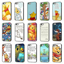 WINNIE THE POOH DISNEY PIGLET TIGGER QUOTE PHONE CASE COVER for iPHONE 5 6 7 8 X