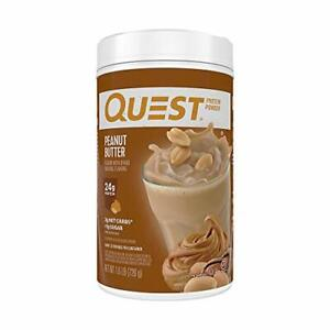 Quest Nutrition Peanut Butter Protein Powder High Protein Low Carb Gluten Fre...