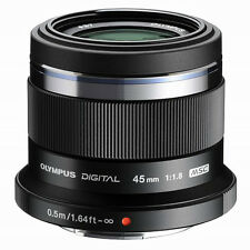 Olympus M.Zuiko 45mm f1.8 MFT Prime Lens - Black CA2482 M43 Panasonic