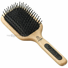 KENT PF18 Professional Maxi Phine Taming Paddle Hair Brush Grooming & Detangling