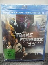 Transformers: The Last Knight (Blu-ray 3D + 2 Blu-rays)  NEU & OVP
