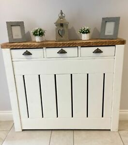 SIMPLY BESPOKE - RUSTIC FARMHOUSE RADIATOR COVERS - MADE TO ANY SIZE / SOLID