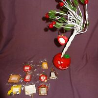 "Teacher #1 10 Mini Picture Frame Apple Tree Table Top Figurine School Photos 13"""