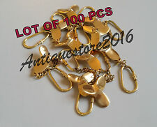 Collectible Nautical PROPELLER FAN Solid Brass Finished Key chain Lot Of 100 Pcs