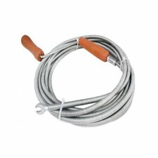 More details for flexible sink drain snake pipe cleaning spiral cleaner tool sewage spring 9mmx2m