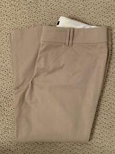 Ann Taylor Khaki Women's Crop Pants 8P 8 Petite - Excellent Condition