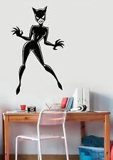 Catwoman Decal Vinyl Sticker Comics Superhero Wall Art Room Bedroom Decor ctw5