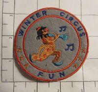 Winter Circus Fun Patch