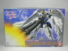 "Gundam Endless Waltz Hg 1/144 ""Wing Gundam Zero Custom"" Metal Clear Ver. Bandai"