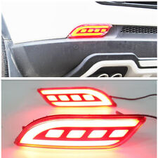 Fit For Jeep Compass 2017 2018 LED Rear Bumper Reflector Brake Light 2PCS