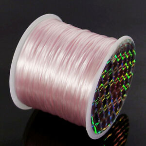 Stretchy Elastic String Cord Thread Rope Wire Roll Bracelet Jewelry Making DIY
