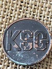 WWI US KSG Collar Disc Kansas State Guard Original
