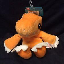 Digimon Agumon Beanie Plush Stuffed Animal Bandai 1997 Rare