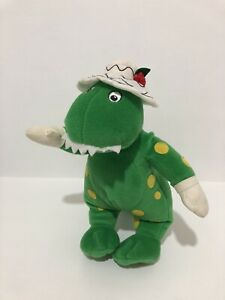 The Wiggles Dorothy The Dinosaur Singing Spin Master 2003 Plush Toy 25 cm