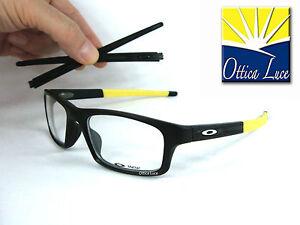 Brille Optisch Oakley Crosslink Pitch 8037 19 Black Yellow 52 Brille Sehbrille