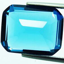 20.75ct Adorable Swiss Blue Topaz Lab Octagon 16X20MM