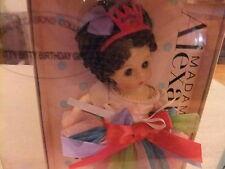 "Madame Alexander 8"" wendy Doll Itty Bitty Birthday Girl Brunette 2008 new mib"