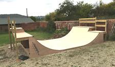 Skateboard scooter garden skate ramp half pipe halfpipe ramp kit by ShawBoard