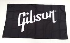 Gibson Banner Flag - Guitar Explorer Les Paul Acoustic Vintage Electric Man Cave