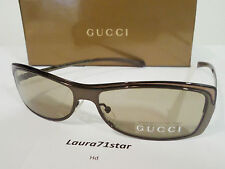 GUCCI 2689 Marrone Brown Unisex occhiali sole sunglasses Glamour New Original
