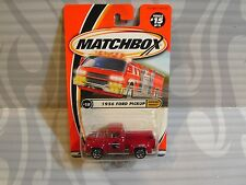 2000 MATCHBOX   #15 = 1956 FORD PICKUP  = RED