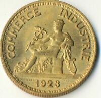 COIN / FRANCE / 50 CENTIMES  1923  CHAMBERS DE COMMERCE  #WT7904