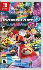 Mario Kart 8 Deluxe - Nintendo Switch Sealed New