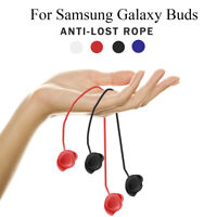 Soft Silicone Anti-Lost Strap Hanging Neck Rope for Samsung Galaxy Buds Earphone