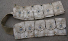 White Washed Camouflage Ammo Cartridge Belt