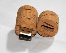 Korken  - USB Stick 8 GB Speicher aus echtem Kork / USB Flash Drive