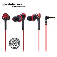 Audio Technica ath-cks77x Rouge Casque In-Ear Headphone Earphone, nombreux accessoires