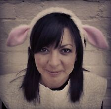 Adults Handmade Sheep Headband - One size fits all