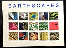 US Stamps #4710a Imperf Earthscapes 2012 Sheet of 15 CV:$55