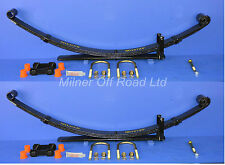 Suspension Leaf Spring Kit Pair Rear for Vauxhall Frontera 4x4 1991-1998