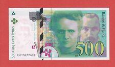 (Ref: R.025) 500 FRANCS PIERRE ET MARIE CURIE 1994 (NEUF)