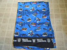 Transformers Characters BED SHEET Top/Flat Twin Blue Bumblebee Megatron Movie