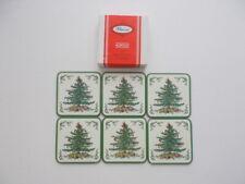 Christmas Tree 6 drink coasters Pimpernel