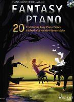 Klavier Noten : Fantasy Piano - 20 leichte Stücke - mit CD (Heumann) - leicht
