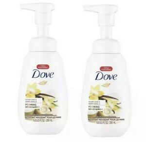 Dove Sugar Cane & Warm Vanilla Foaming Liquid Hand Wash Soap - 6.8oz