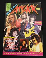 Metal Attack Magazine #2 1987 Dio Metallica Anthrax Motorhead Bon Jovi Europe