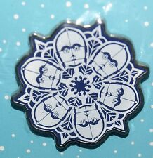 Disney Star Wars C-3PO C3PO Snowflake Booster Starter Pin New Out of Package