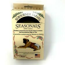 SOJOURNER FARMS XS Sanitary Protection For Dogs Cats Diapers Pink Floral NEW