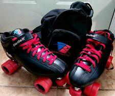 CUSTOM Riedell R3 Black Roller Skate Set (SIZE 13 US)