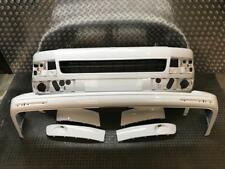 VW T5 T5.1 FACELIFT CARAVELLE FRONT REAR BUMPERS WITH GRILLS 2012-ON CANDY WHITE