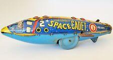 POLARIS TOM CORBETT SPACE CADET ROCKET SHIP TIN LITHOGRAPHED WIND UP TOY MARX